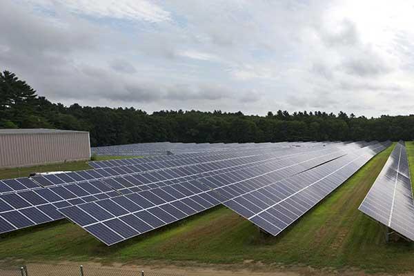 Massachusetts PV Plant
