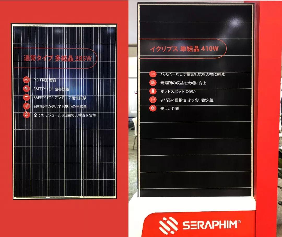 展会直击|赛拉弗亮相日本展,高效光伏组件受瞩目