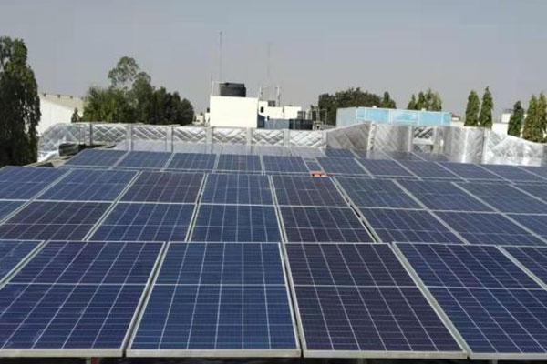 普纳太阳能工商业屋顶光伏项目