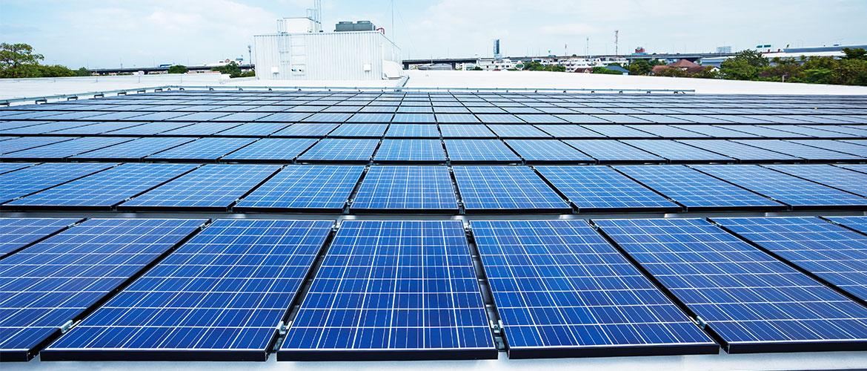赛拉弗为1.65MW山东商业屋顶项目提供光伏组件