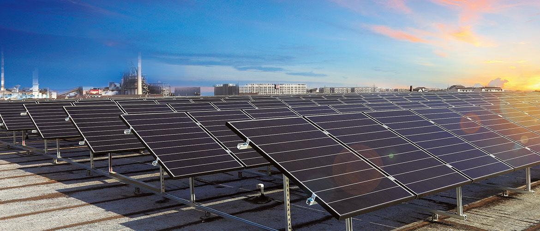 赛拉弗安装全球最大使用叠瓦组件的屋顶项目