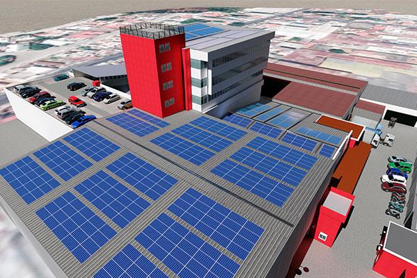 危地马拉商业屋顶项目