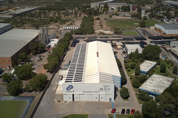 墨西哥工商业屋顶项目